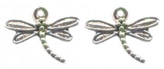 Breloques libellule 20 x 15 Qte : 2