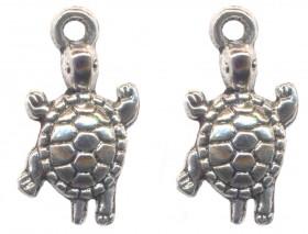 Breloques tortue 23 x 12 Qte : 2
