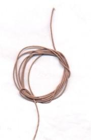 Coton ciré Ø 1 mm Couleur : silver 1 metre
