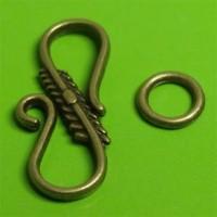 Fermoirs Toggle bronze Tibétain 24 x 10 Qte : 5