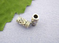 Intercalaires Tube  4 X 10 mm  taille du trou = 2 mm Qte : 10
