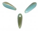 Dagues 3 x 11 Turquoise ambre Qte : 50