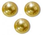 Perles nacrées 5810 SWAROVSKI® ELEMENTS 10 mm GOLD X 5