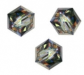 Perles cubes Swarovski 6 mm ( 5601 ))