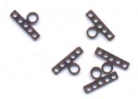 Intercalaires bronze 14 x 7 Qte : 10