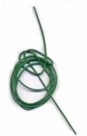 Cordon cuir diametre 1.5 mm vert Qte : 1 metre