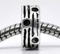 Perles bloqueur   8mm...taille du trou = 5 mm Qte: 10
