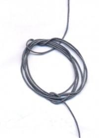 Coton Ciré  0.8 mm  Couleur : Gris 1 metre