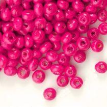1400 Perles en bois Rondes rose 3x4mm  taille du trou = 1.4 mm