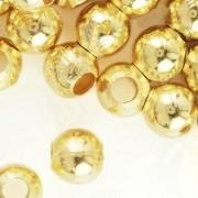 Perles à écraser Doré 4x4mm X 150