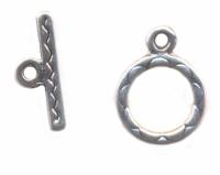 Fermoirs rond anneau : 11 et toggle : 15 Qte : 50