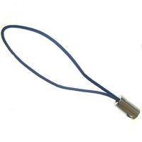 Attaches cordons Dragonnes Bleu pr portable 50mm  Qte : 2