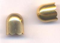 Calotte Coupelles or 14 x 13 mm  Qte : 2