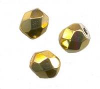 Facettes de boheme 8 mm OR Qte : 50