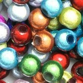 Perles Magiques Miracles Rondes 10mm MIXTE X 20
