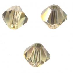 TOUPIES SWAROVSKI® ELEMENTS 4 mm JONQUIL SATIN X 100