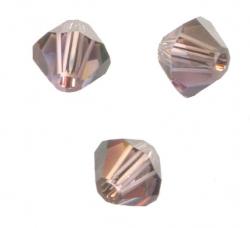 TOUPIES SWAROVSKI® ELEMENTS 4 mm LIGHT AMETHYST SATIN X 100