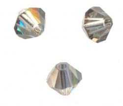 TOUPIES SWAROVSKI® ELEMENTS 4 mm LIGHT AZORE SATIN X 100