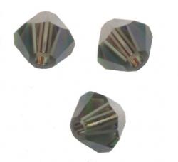 TOUPIES SWAROVSKI® ELEMENTS 4 mm MORION SATIN X 100