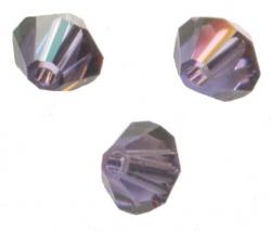 TOUPIES SWAROVSKI® ELEMENTS 4 mm TANZANITE SATIN X 100