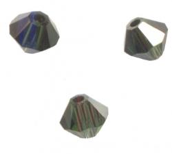 TOUPIES SWAROVSKI® ELEMENTS 4 mm TURMALINE SATIN X 100