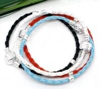 Mixte Bracelets Tressé pour Européen Perle 20cm X 4