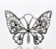 Pendentif breloque  Papillon  48x36mm X 1