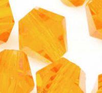 Toupies boheme 6 mm crystal sunlight X 50