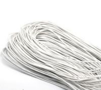 Cordon ciré Blanc 1.5mm X 1 metre