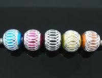 Mixte Perles Aluminium Lanterne  10 mm X 10