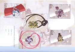 livre N°4........   Schemas colliers , bagues, bracelets, boucles d'oreiles