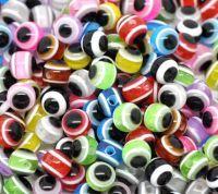 Mixte perles  Résine 6mm X 20