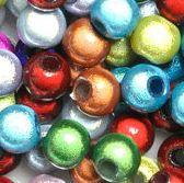 Perles Magiques Miracle Rondes  6 mm Mixte couleurs X 80