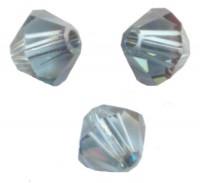 TOUPIES SWAROVSKI® ELEMENTS  3mm AQUAMARINE satin 50 perles
