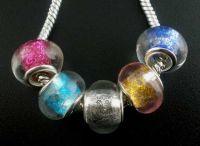 Mixte Perle Lampwork verre   10x14mm X 10
