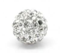 Perles strass  10mm  X 2