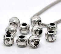Perles  motif   11x9mm X 10