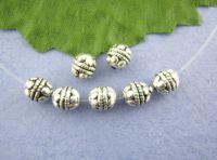 Perles intercalaires spacer  Rond Motif 5mm X 10