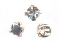 Mini cabochon diamant 3 mm serti X 5