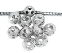 Perles  Dépolies  10x9mm X 10
