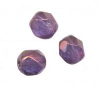 PERLES FACETTES DE BOHEME 6mm AB 25 perles CRYSTAL VEGA