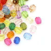 Mixte Perles  Acrylique Facettes 4mm Taille du trou 0.8 mm  X 100