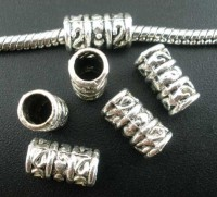 Perles intercalaires sculptées