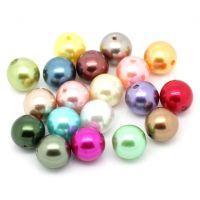 Mixte Perles  Acrylique  15.5mm......Taille du trou 1 mm  x 5