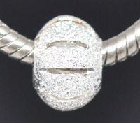 Perles Intercalaires Dépolies pour Bracelet  11x8mm X 9