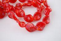 Perles Lampwork , perles de Murano 20 mm X 10