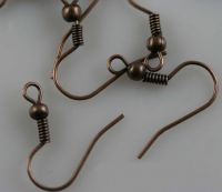 Support Attaches Boucles D'oreilles cooper 19 mm X 100