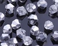 Toupies en crystal 3 mm Crystal comet argent light X 200
