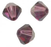 TOUPIES SWAROVSKI® ELEMENTS 3mm AMETHYST satin 50 perles