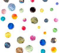 Perles cristal swarovski Rondes 5000 3 mm